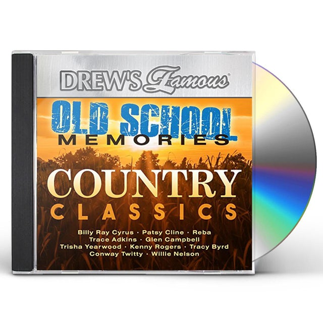 Drew's Famous OLD SCHOOL MEMORIES - COUNTRY CLASSICS CD
