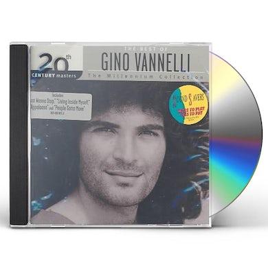 Gino Vannelli 20TH CENTURY MASTERS: MILLENNIUM COLLECTION CD