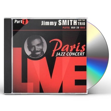 Jimmy Smith PARIS JAZZ CONCERT LIVE CD