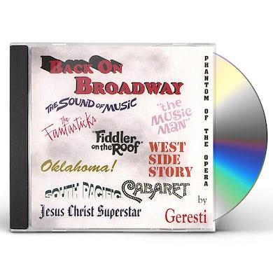 Geresti BACK ON BROADWAY CD