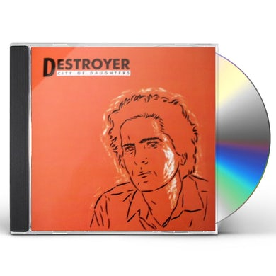 Destroyer CITY OF DAUGHTERS CD