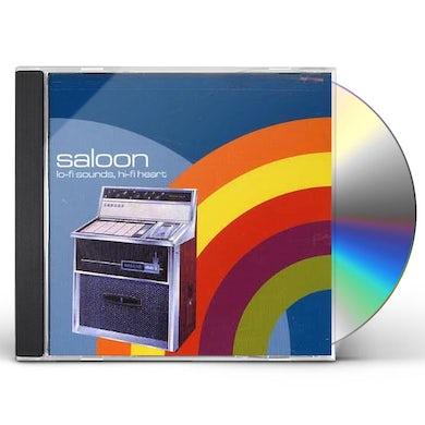 Saloon LO-FI SOUNDS HI-FI HEART CD