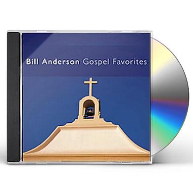 Bill Anderson GOSPEL FAVORITES CD
