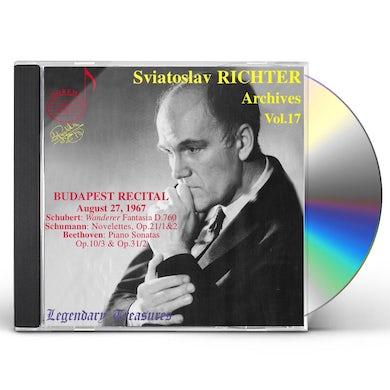 Sviatoslav Richter ARCHIVES 17 CD