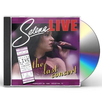 Selena LIVE: LAST CONCERT CD
