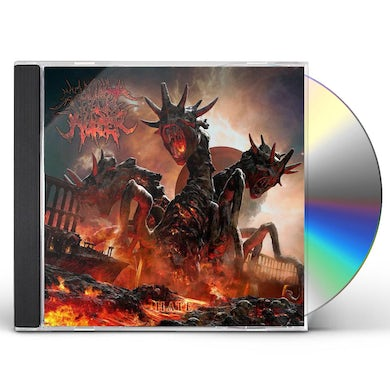 Thy Art Is Murder HATE CD
