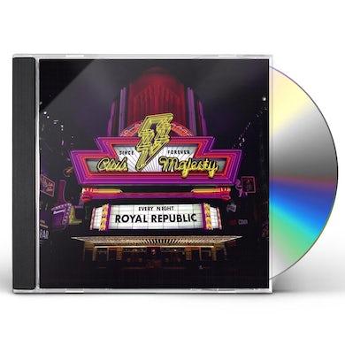 Royal Republic CLUB MAJESTY CD