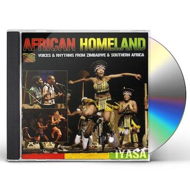 IYASA AFRICAN HOMELAND: VOICES & RHYTHMS FROM ZIMBABWE & CD
