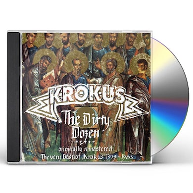 Krokus DIRTY DOZEN: VERY BEST OF CD