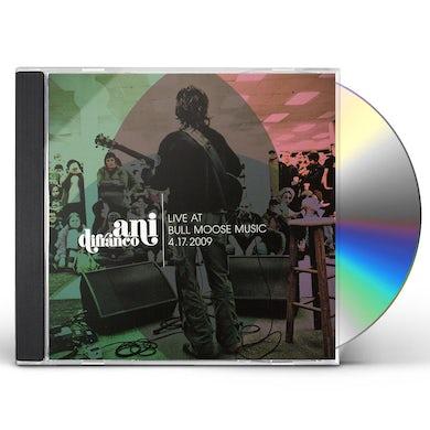 LIVE AT BULL MOOSE 4-17-2009 CD