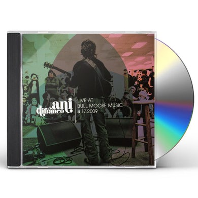 Ani Difranco LIVE AT BULL MOOSE 4-17-2009 CD
