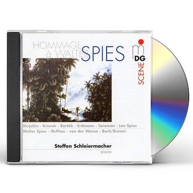 Steffen Schleiermacher HOMMAGE A WALTER SPIES CD