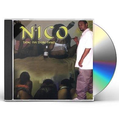 NICO DOIN THA DAMN THANG CD