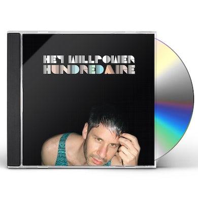 Hey Willpower HUNDREDAIRE CD