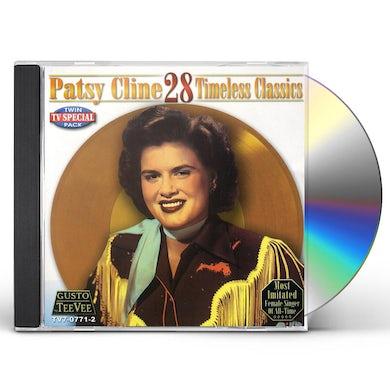 Patsy Cline 28 TIMELESS CLASSICS CD