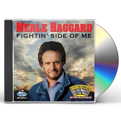 Merle Haggard FIGHTIN SIDE OF ME CD
