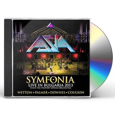 Asia SYMFONIA: LIVE IN BULGARIA 2013 CD