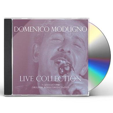 Domenico Modugno CONCERTO LIVE AT RSI (7 GENNAIO 1981) - CD+DVD DIG CD