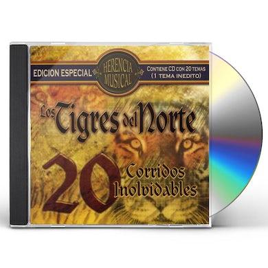 Los Tigres Del Norte   HERENCIA MUSICAL: 20 CORRIDOS CD