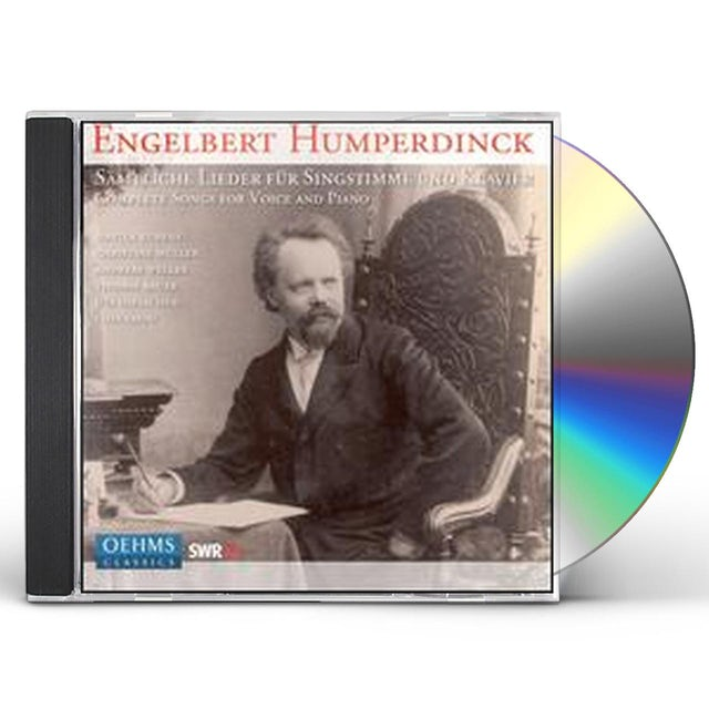 Engelbert Humperdinck COMPLETE LIEDER CD