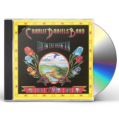 Charlie Daniels FIRE ON THE MOUNTAIN CD