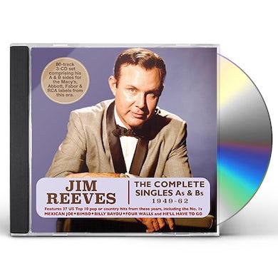 Jim Reeves COMPLETE SINGLES AS & BS 1949-62 CD