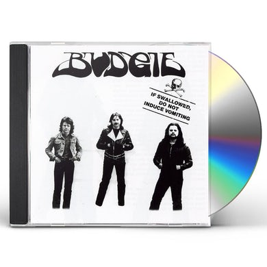 Budgie IF SWALLOWED DO NOT INDUCE VOMITING CD