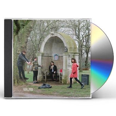 Sauna Youth DISTRACTIONS CD