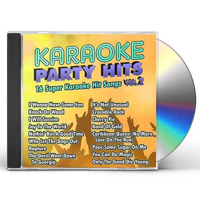 Karaoke Cloud KARAOKE PARTY HITS 2 CD