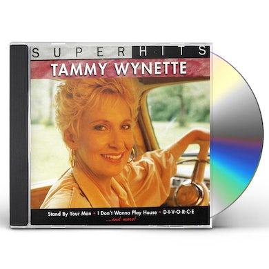 Tammy Wynette SUPER HITS CD