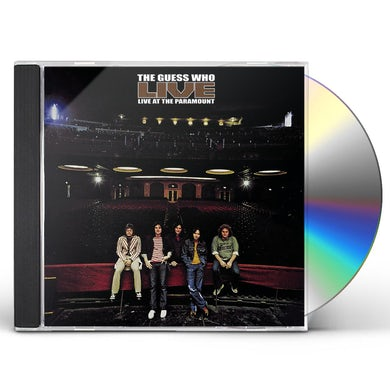 The Guess Who Live At The Paramount CD