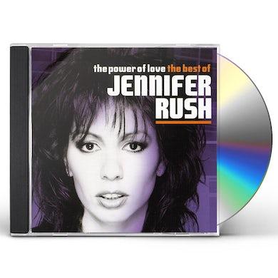 Jennifer Rush POWER OF LOVE: BEST OF CD