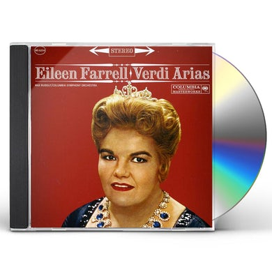 Eileen Farrell VERDI ARIAS CD