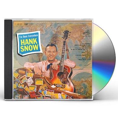 Hank Snow I'VE BEEN EVERYWHERE CD