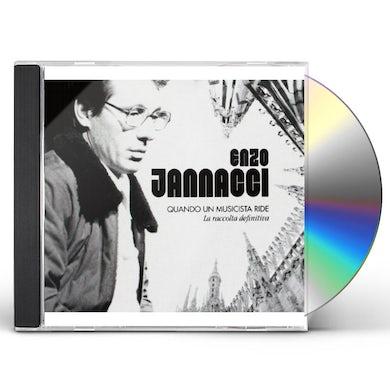 Enzo Jannacci QUANDO UN MUSICISTA RIDE-LA RACCOLTA DEFINITIVA CD