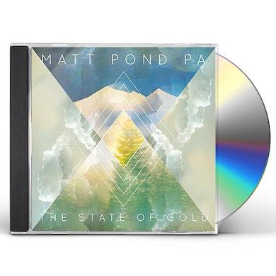 Matt Pond PA STATE OF GOLD CD