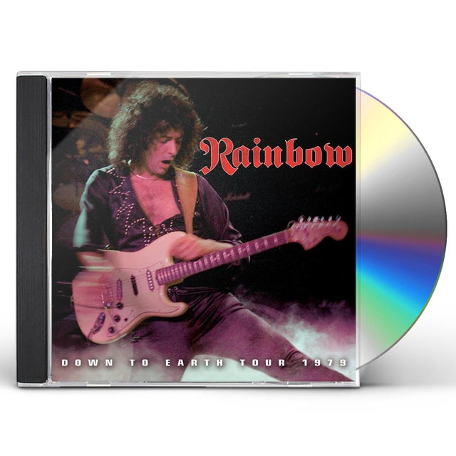Rainbow THE DOWN TO EARTH TOUR 1979 CD