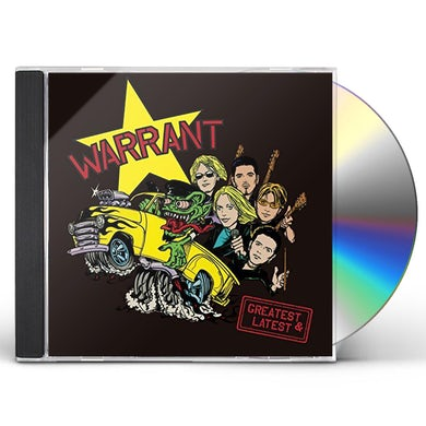 Warrant GREATEST & LATEST CD