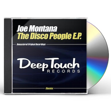 Joe Montana DISCO PEOPLE EP CD