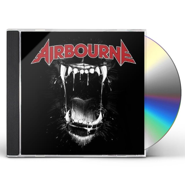 Airbourne BLACK DOG BARKING CD