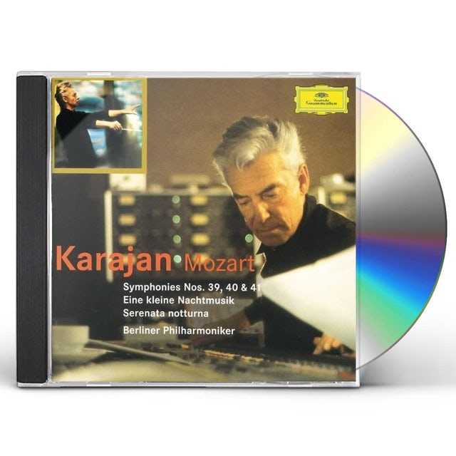 W.A. Mozart SYMS 39-41 CD