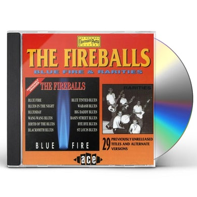Fireballs BLUE FIRE & RARITIES CD