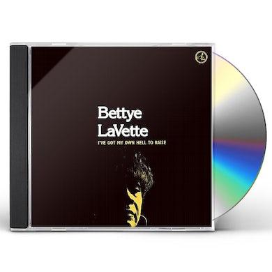 Bettye Lavette  I'VE GOT MY OWN HELL TO RAISE CD
