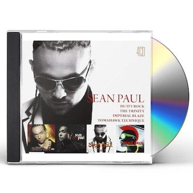 Sean Paul 4CD BOX SET CD