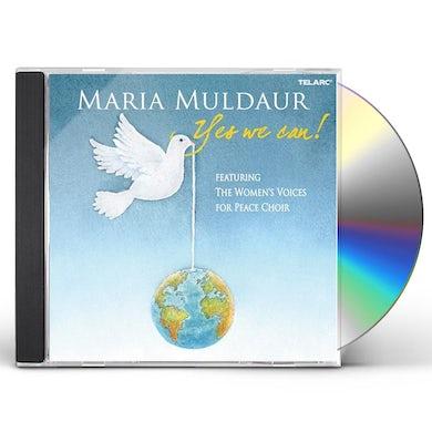 Maria Muldaur YES WE CAN CD