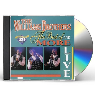 Williams Brothers LIVE BEST OF & MORE CD