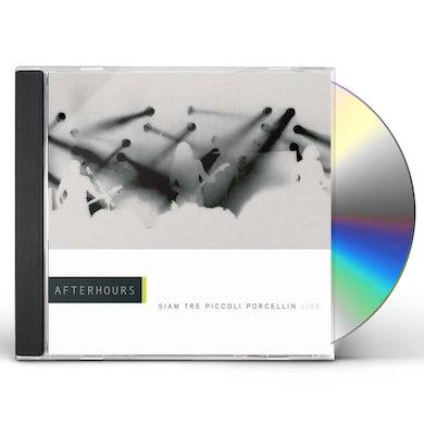 Afterhours SIAM TRE PICCOLI PORCELLINI: LIVE CD