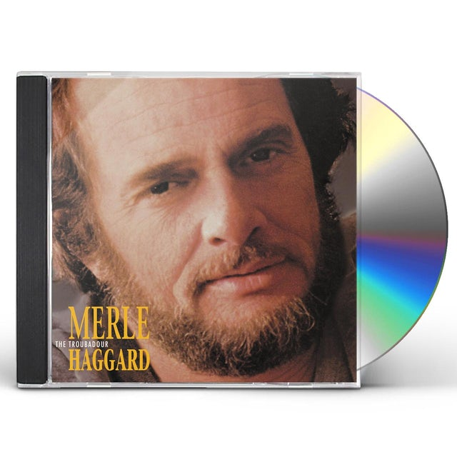 Merle Haggard TROUBADOUR CD
