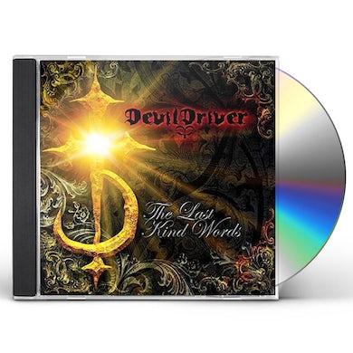 Devildriver LAST KIND WORDS CD