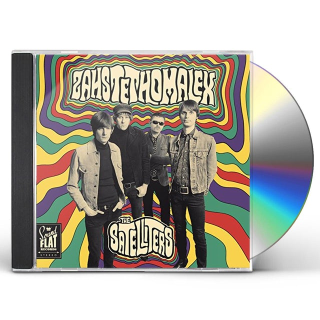 Satelliters ZAHSTETHOMALEX CD